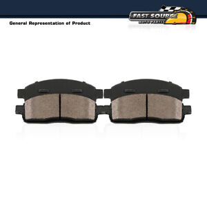 Front Ceramic Brake Pads For 2011 - 2013 2014 2015 2016 2017 Dodge Ram 4500 5500