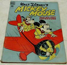 Walt Disney's Mickey Mouse Four-Color 214 (GD+ 2.5) 1949, 40% off Guide!