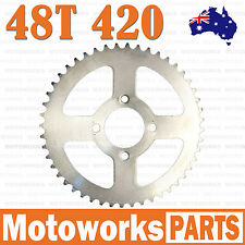 48 Teeth 420 Rear Back Chain Sprocket Cog TRAIL QUAD DIRT BIKE ATV Buggy Gokart1