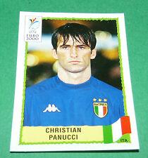 N°168 CHRISTIAN PANUCCI ITALIA ITALY ITALIE PANINI FOOTBALL UEFA EURO 2000