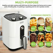 2L Air Fryer Low Fat Healthy Oven Cooker Oil Free Frying Chip Fry 1400W Kitchen