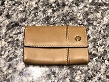 TUMI Brown Leather Key Case