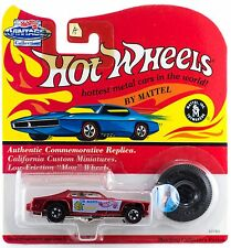 Hot Wheels Vintage Collection Series II Mongoose Tom McEwen Bright Red A B 1994