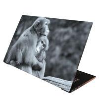 Laptop Folie  Aufkleber Schutzfolie für Notebook Skin Cover Affen 13-17 Zoll