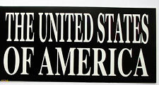 UNITED STATES OF AMERICA DECAL ZAP STICKER FLAG US ARMY NAVY AIR FORCE  MARINES