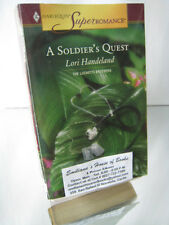 A SOLDER'S QUEST-BY LORI HANDELAND-HARLEQUIN SUPER ROMANCE/FICTION BOOK
