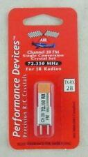 JR Single Conversion 72Mhz FM Transmitter/Receiver Crystal Set Channel 28 72.350