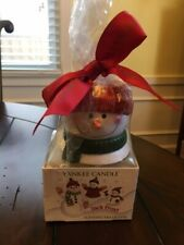 Brand New Yankee Candle Tealight Set of Snowman and Jack Frost Scent