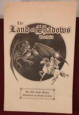 Schanes & Schanes Frank Cirocco Land of Shadows Portfolio #338/1000 Tolkien