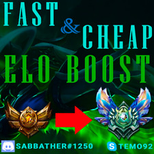 League of Legends Elo Boost | Cheap | LoL Account NA North America EUW/EUNE/LAN