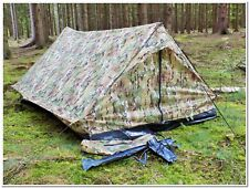 Standard Two Man Military Army Tactical Double Shelter - Multitarn - Brand New