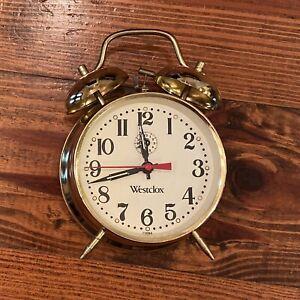 Westclox Double Bell Clock - Bell Works But Clock NEEDS REPAIR Prop