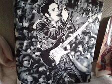 Elvis Presley 1968 Elvis in Leather Comeback Folder Binder Note Back Cool