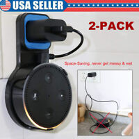 2X Wall Mount Hanger Holder Stand Bracket For Amazon Alexa Echo Dot 2 2nd Gen US