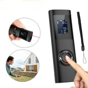 40M Handheld Digital Laser Distance Measuring Tool Meter Lazer USB Rechargeable