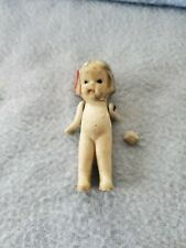 "Vintage Bisque 3"" Girl Doll Made in Japan ~ Fast Shipping!"