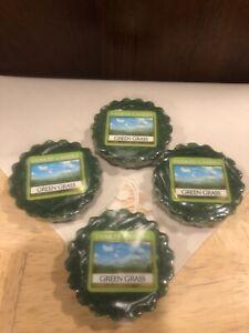 4 Yankee Green Grass Tarts Wax Melts