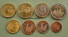 Spanien KMS 2013 Euro Münzen mit 1 Cent bis 2 Euro El Escorial Euromünzen