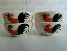"Roosters  style Porcelain/Ceramic bowls Sauce/Dipping Chinese / Asian ""unique"""