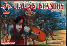 Red Box Models 1/72 ITALIAN INFANTRY 16th Century Figure Set