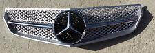 Silver W207 Grille E Class 2 Door, 10-13, GRA-W207-1011W-SLN-SL,(Fits: Mercedes)