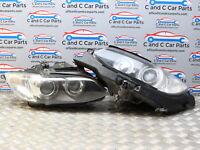 BMW 3 Series Xenon Headlight Pair Upgraded Angel Eyes E92 E93 Pre LCI 7162129