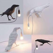 Table Lamps Resin Crow Desk Lamp Bedroom Bird Shape Wall...