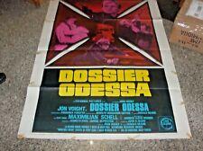 DOSSIER ODESSA manifesto 2F originale 1974 JON VOIGHT