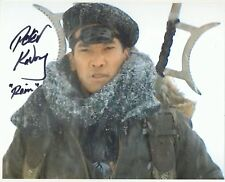 Peter Kwong Autograph THE GOLDEN CHILD Signed 8x10 Photo AFTAL [0865]