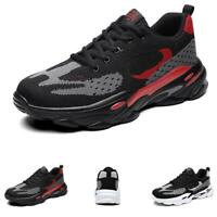 Mens Fashion Sneakers Shoes Outdoor Running Sports Gym Fitness Non-slip Casual B