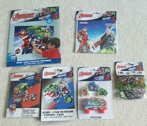Marvel Avengers Birthday Set Party Supplies - Brand New 38 piece