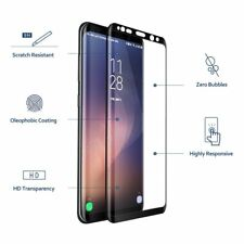 New 2018 Model Samsung Galaxy S8 PlusTempered Glass 3D Curved Screen Protector