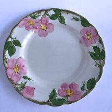 "Franciscan Desert Rose Dinner Plate Black Interpace X1-73 Backstamp 10-3/4"""