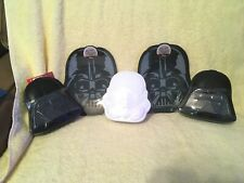 """Star Wars Darth Vader 7.5"""" x 8"""" Plate BPA Free- 3 Candy Containers Vader New"""