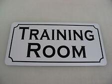 TRAINING ROOM Vintage Style Metal Sign 4 Gym Athletic Team Golf Club Pool