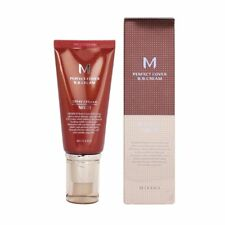 "MISSHA M PERFECT COVER BB CREAM ""No. 21 Light Beige"" BRAND NEW"