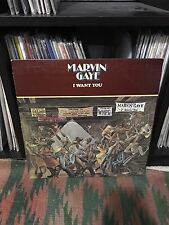 OG M- Marvin Gaye I Want You LP Vinyl Record Curtis Mayfield James Brown Disco