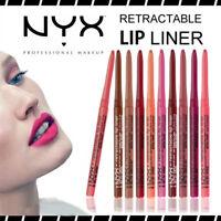 NYX Retractable Lip Liner Waterproof - Choose Your Shade