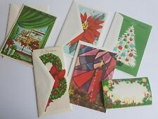 Christmas Vintage Greeting Card Lot
