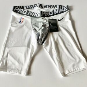Nike Pro NBA Player Issued PE Basketball Compression Shorts L/large 880802-101