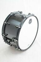 "Mapex MPML4800BMB MPX Series Maple 14"" x 8"" Snare Drum, Transparent Black Finish"