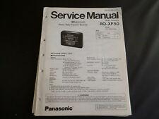 Original Service Manual Panasonic  RQ-XF50