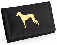 Saluki Dog Gift Wallet Rip-Stop Colour Choice Hound Purse Birthday Gift