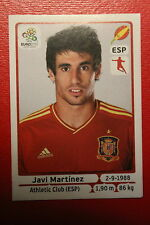 Panini EURO 2012 N. 294 ESPANA MARTINEZ NEW With BLACK BACK TOPMINT!!