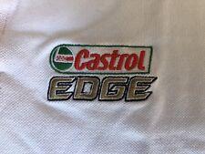 New CASTROL Racing Polo Shirt, Mens XS