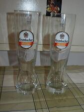 Weizenbierglas Weissbierglas Bierglas 0,5 l von Krombacher (2 Stück)