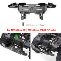 GRC Metal Winch Front Bumper Para Traxxas TRX-4 TRX-6 Benz G500 G63 RC Crawler