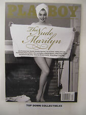 Playboy Magazine  December 2012    The Nude Marilyn Monroe Pictorial