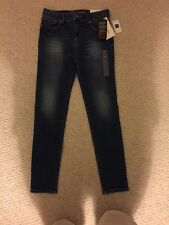 NWT GAP KIDS GIRL SUPER SKINNY HIGH STRETCH DENIM JEANS ADJUSTABLE WAIST 10