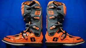 Gaerne SG 12 Gray Orange Mens Size 11